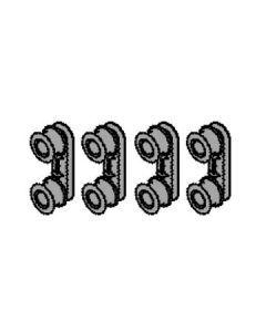 4055260790 SUPPORT ROLLER KIT (PKT 4)