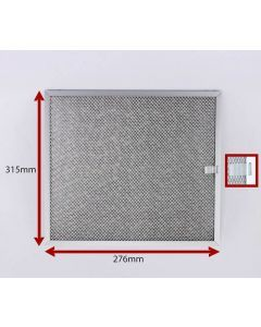 FILTER 276 X 315 X 10MM PACK 2